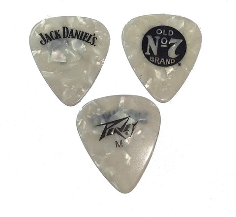 Peavey Jack Daniel's JD Pick Clam Pack - Medium White Pearl - Urban Species