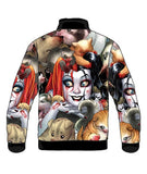 Harley Quinn Pet Jacket Ladies (Black