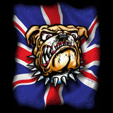 London British Bulldog Men's T-shirt (Black) - Urban Species Mens Short Sleeved T-Shirt