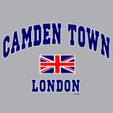 London Union Jack Camden Men's T-shirt (Heather Grey)