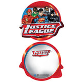 DC Comics Justice League Xmas Pattern Tube Official Sweatshirt (Red)