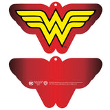 DC Comics Wonder Woman Logo Classic 02 Official Women's T-shirt (Red)