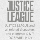 DC Justice League Splash Unite League Official Men's T-shirt (Heather Grey) - Urban Species Mens Short Sleeved T-Shirt