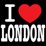 I Love London Men's T-shirt (Black)