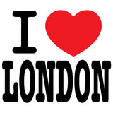 I Love London Men's T-shirt (White)