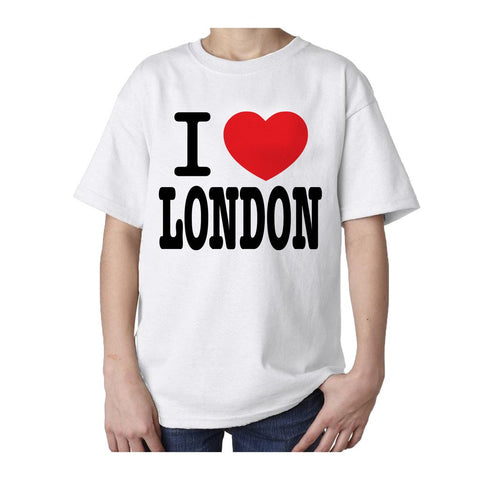 Kids I Love London T-shirt (White)