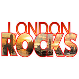 Cool New London Rocks Men's T-shirt (White) - Urban Species Mens Short Sleeved T-Shirt