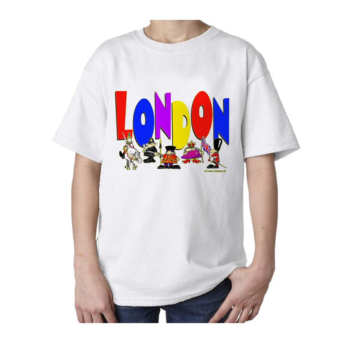 Kids London Personalities T-shirt (White)