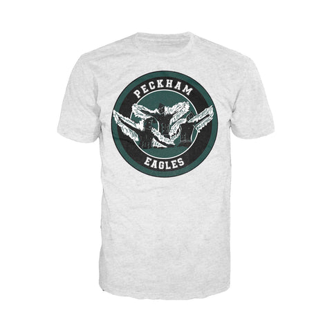 4 Quarters Peckham Eagles Official Men's T-shirt (Heather Grey) - Urban Species Mens Short Sleeved T-Shirt