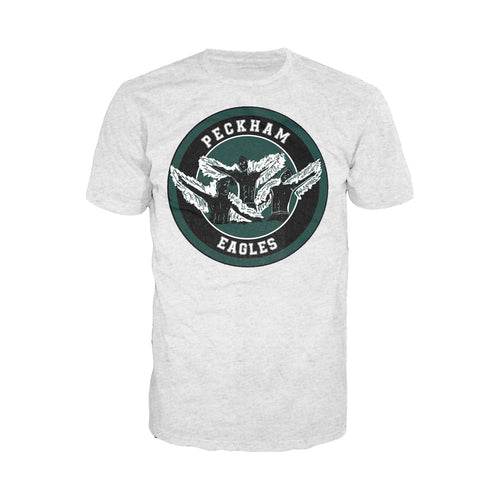 The Four Quarters Peckham Eagles Official Men's T-shirt (Heather Grey) - Urban Species Mens Short Sleeved T-Shirt