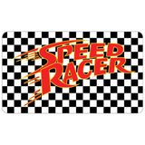 Cool New Speed Racer Checkered Red Official Women's Long Tank Dress (Black) - Urban Species