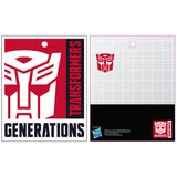 Transformers Autobot B&W Logo Official Men's T-shirt (Black)