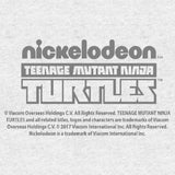 TMNT Gang Retro Cowabunga Official Men's T-Shirt (Heather Grey) - Urban Species Mens Short Sleeved T-Shirt