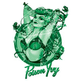 DC Comics Bombshells Poison Ivy Character Official Women's T-shirt (White) - Urban Species Ladies Short Sleeved T-Shirt