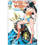 DC Comics Wonder Woman Cover #55 Official Women's T-shirt (White) - Urban Species Ladies Short Sleeved T-Shirt
