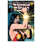 DC Comics Wonder Woman Cover #0 Official Women's T-shirt (White) - Urban Species Ladies Short Sleeved T-Shirt