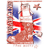 Deadline 0 Tank Boots Official Women's T-shirt (White)