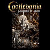 Castlevania Symphony Box Art Official Men's T-shirt (Black)