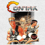 Contra Box Art Official Women's Long Tank Dress (Heather Grey)