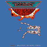 Gradius Screenshot Boss Warship Official Men's T-shirt (Royal Blue)