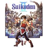 Suikoden II Box Art Official Men's T-shirt (White)