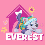 Cool New Paw Patrol Everest Official Kid's T-Shirt (Pink) - Urban Species