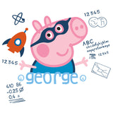 Peppa Pig George Doodle Official Kid's T-Shirt (White)
