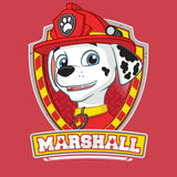 Cool New Paw Patrol Marshall Official Kid's T-Shirt (Red) - Urban Species