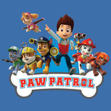 Cool New Paw Patrol Group Official Kid's T-Shirt (Royal Blue) - Urban Species