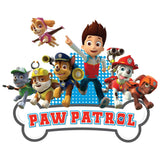 Cool New Paw Patrol Group Official Kid's T-Shirt (White) - Urban Species