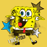 SpongeBob SquarePants See You Official Kid's T-Shirt (Yellow)