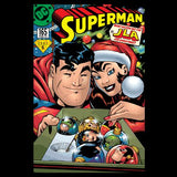 US DC Superman Cover 165 Xmas Lois Lane Men's T-Shirt Black