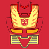 Transformers Cosplay Hot Rod Official Men's T-shirt (Red) - Urban Species Mens Short Sleeved T-Shirt