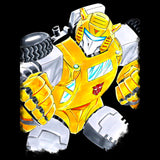 Transformers G1 Bumblebee Official Women's T-shirt (Black) - Urban Species Ladies Short Sleeved T-Shirt