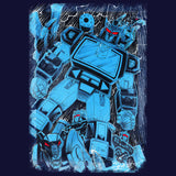 Transformers Soundwave Family Official Men's T-shirt (Navy)