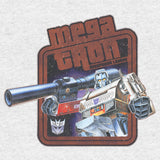 Transformers Megatron Leader Official Women's T-shirt (Heather Grey) - Urban Species Ladies Short Sleeved T-Shirt