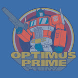 Transformers Prime Circle Vintage Official Women's T-shirt (Royal Blue) - Urban Species Ladies Short Sleeved T-Shirt