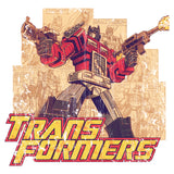 Transformers Prime Montage Official Men's T-shirt (White) - Urban Species Mens Short Sleeved T-Shirt