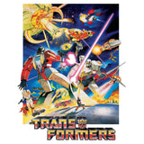 Transformers G1 1986 Movie Poster Official Men's T-shirt (White)