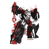 Transformers Fall of Cybertron Megatron Rain Official Men's T-shirt (White) - Urban Species Mens Short Sleeved T-Shirt