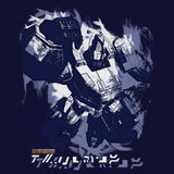 Transformers Fall of Cybertron Prime Paint Official Men's T-shirt (Navy)