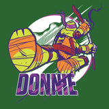 TMNT Donnatello Donnie Official Kid's T-Shirt (Green) - Urban Species Kids Short Sleeved T-Shirt