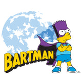 The Simpsons Bartman Watcher Official Kid's T-Shirt (White)