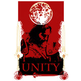 Warcraft Alliance Poster Unity Official Men's T-shirt (White) - Urban Species Mens Short Sleeved T-Shirt