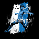 WWE AJ Styles Comic Phenomenal Official Women's T-shirt (Black)