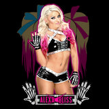 Cool New WWE Alexa Bliss Logo Pose Official Men's T-shirt (Black) - Urban Species Mens Short Sleeved T-Shirt