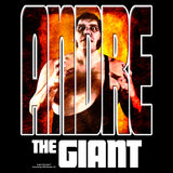 Cool New WWE Andre The Giant Splash GIANT Official Men's T-shirt (Black) - Urban Species Mens Short Sleeved T-Shirt