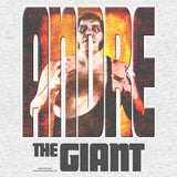 Cool New WWE Andre The Giant Splash GIANT Official Women's T-shirt (Heather Grey) - Urban Species Ladies Short Sleeved T-Shirt