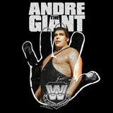 WWE Andre The Giant Logo Hand Official Sweatshirt (Black)