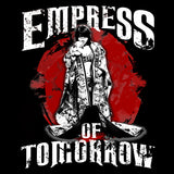 WWE Asuka Pose Empress Tomorrow Official Women's T-shirt (Black)